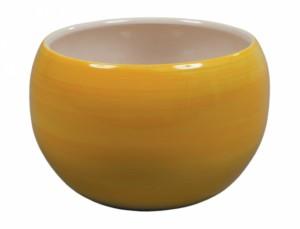 Obal TITAN AQUAREL d18cm/žlut.lesk/