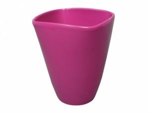 Kvetník VANDA CLASSIC 14x14cm/fialová/lesk