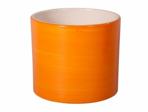 Kvetník ZEUS Aquarel d13cm/oran.lesk /