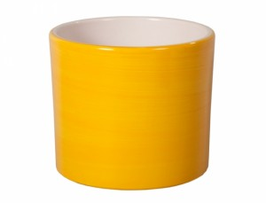Kvetník ZEUS Aquarel d32cm/žlut.lesk