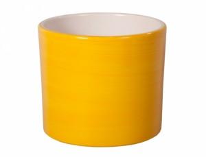 Květník ZEUS AQUAREL d32cm/žlut.lesk