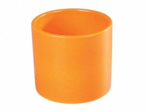 Květník ZEUS COLORADO d19cm/oran.kropodmiskou lesk