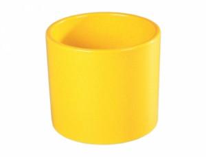 Květník ZEUS COLORADO d23cm/žlut.kropodmiskou lesk