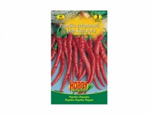 Paprika zeleninová typ Kozí roh