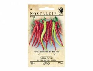 Paprika zeleninová typ Kozí roh Beros