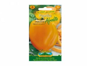 Paprika zeleninová AFRODITA - rychlení oranžová