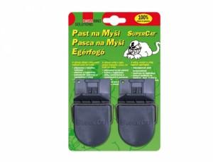 Past na myši plastová včetně návnady 2ks SWISS