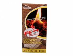 Podpaľovač Pe-Po / dřevěný/32 podpáli