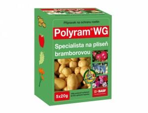 Polyram WG 5x20g - postřik fungicidní
