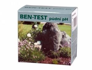 Půdní pH test