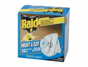 RAID proti komárům a mouchám /1+1ks