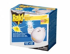 RAID - hubenie hmyzu/45 nocí/126ml (strojček)