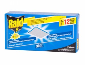 RAID SILVER  náhradní náplň 30ks