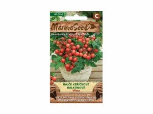 Rajče keříčkové balkónové Vilma 40 semen