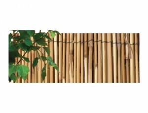 Přírodní rohož z rákosu - káva  1x5m