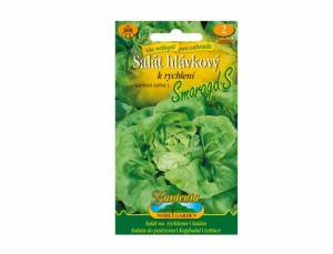 Šalát hlávkový na rýchlenie Smaragd S 500 semien
