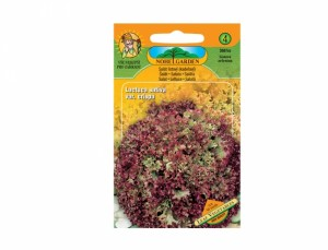 Šalát listový kučeravý Leaf vegetables 50 semien