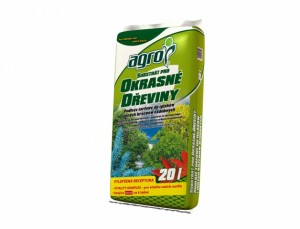 Speciální substrát pro okrasné dřeviny, 20l - Agro