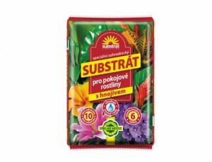 Substrát pre izbové rastliny 10l