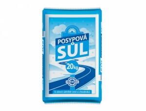 Soľ posypová 20kg