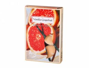 Čajová sviečka s vôňou 6ks/vanilka-grapefruit /