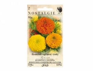 Aksamitník vzpřímený vysoký Mix 130 semen
