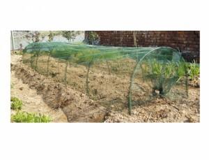 Fóliovník - Tunel záhradné 300x65x45h (sieťovina)