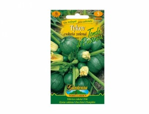 Tekvica cuketa zelená Tondo Di Piacenza 10 semien