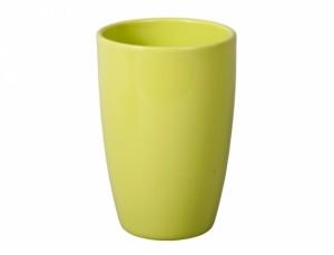 Váza ARTEMIS AROMAT 25cm/sv.zelená lesk/