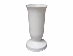 Váza hřbitovní KALICH d12x24h/těžká/granit/