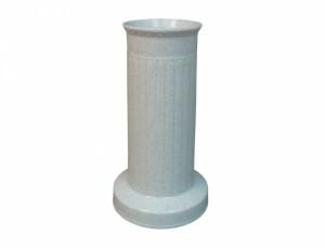 Váza hřbitovní SLOUP d12x22h/těžká/granit/