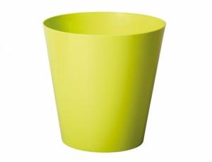 Obal na květináč  CLIVO d18cm/světle zelená/