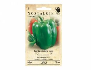 Paprika zeleninová skorá Granova 60 semien