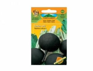 Reďkev siata Guľatá čierna 120 semien