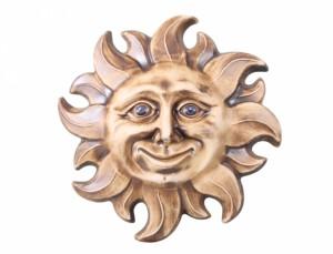 Slunce 29cm/patina/