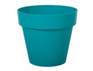 Květináč MITU d16x14h/lesk/modrý
