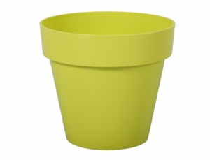 Kvetník  MITU d16x14h/lesk/sv.zelený
