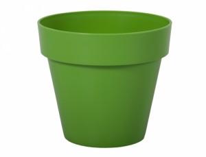 Květináč MITU d16x14h/lesk/zelený