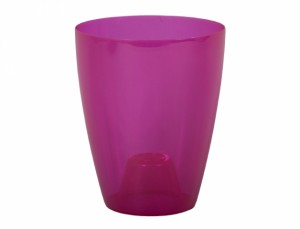 Obal ORCHIDEA  LAKY EXTRA d12cm/plast trans/rů
