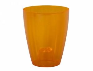 Obal ORCHIDEA LAKY EXTRA d12cm/plast/oranžová