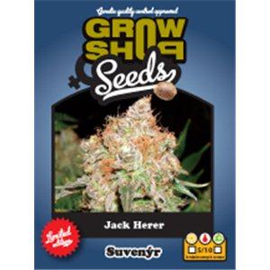 Jack Herer 10 feminizovaných semínek Growshop
