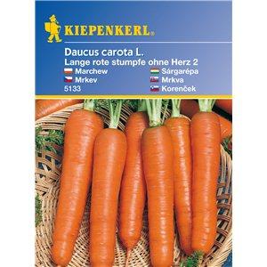 Mrkev dlouhá Lange rote - semena mrkve
