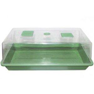 Skleník plastový, 56 * 31 * 22cm, tvrdý plast