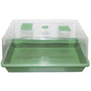 Skleník plastový, 38 * 24 * 19cm, tvrdý plast