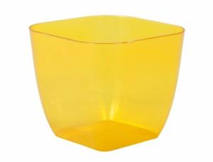 Obal PAGANINI SQUARE 15x15cm/plast.transparentní