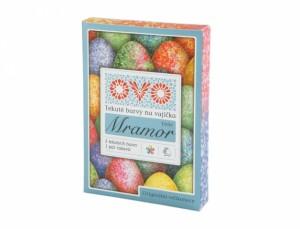 OVO farba na vajíčka MRAMOR 5x5ml + rukavice