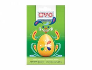 OVO SET 4barvy/tablety/1 arch obtisků