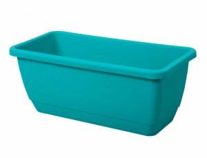 Truhlík INIS 60cm/mat/modrý
