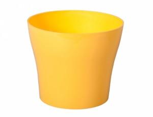 Obal TULIPAN d17cm/žlutá/lesk /
