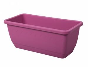 Truhlík INIS 40cm/mat/růžový